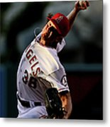 Jered Weaver Metal Print