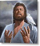 Jesus Loves Me Metal Print