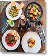Jewish cuisine Metal Print