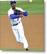 Jimmy Rollins Metal Print