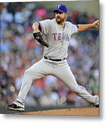 Joe Saunders Metal Print
