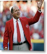 Johnny Bench Metal Print