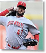 Johnny Cueto Metal Print