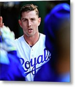 Johnny Giavotella Metal Print