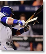 Jonathan Schoop and Alex Gordon Metal Print