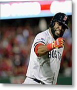 Jonny Gomes and David Ortiz Metal Print