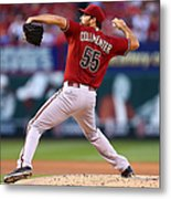 Josh Collmenter Metal Print