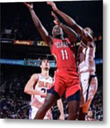Jrue Holiday Metal Print