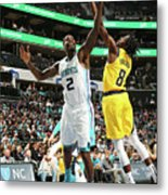 Justin Holiday and Marvin Williams Metal Print