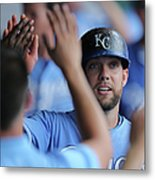 Justin Maxwell and Alex Gordon Metal Print