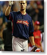 Justin Morneau Metal Print
