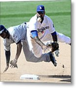 Justin Upton and Howie Kendrick Metal Print