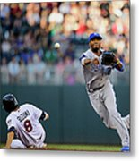 Kurt Suzuki and Alcides Escobar Metal Print