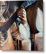 La Guitarra- Portuguese Guitar Metal Print