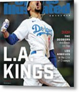Los Angeles Dodgers Special World Series Commemorative Sports Illustrated Cover Metal Print