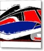 Le Mans Metal Print