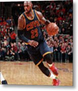 Lebron James Metal Print