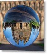 Lichfield lens ball Metal Print