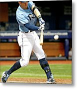 Logan Forsythe and Evan Longoria Metal Print