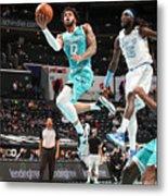 Los Angeles Lakers v Charlotte Hornets Metal Print
