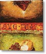 Love Feast Metal Print