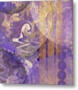 Lunar Impressions Metal Print