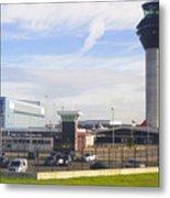 Manchester airport. Metal Print