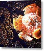 Mandarin Metal Print