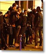 Many Dead After Multiple Shootings In Paris Metal Print