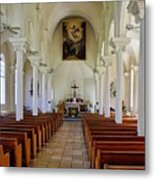 Maria Lanakila Church Interior Metal Print