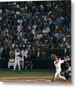 Mark Mcgwire and Roger Maris Metal Print