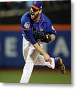 Matt Harvey Metal Print