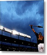 Matt Wieters Metal Print