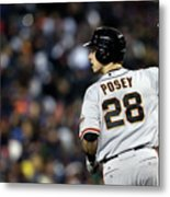 Max Scherzer and Buster Posey Metal Print