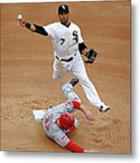 Micah Johnson and Jay Bruce Metal Print