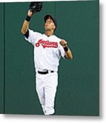 Michael Brantley And Carlos Correa Metal Print