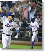 Michael Cuddyer and Curtis Granderson Metal Print