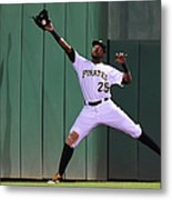 Miguel Montero and Gregory Polanco Metal Print