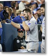 Mike Moustakas, Eric Hosmer, And Ned Yost Metal Print