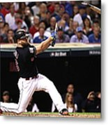 Mike Napoli Metal Print