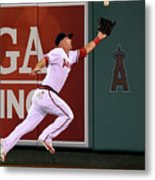 Mike Trout and Adam Eaton Metal Print