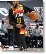 Minnesota Timberwolves v Utah Jazz Metal Print
