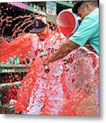 Mookie Betts Metal Print