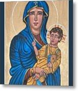 Mother of God Protectress of Health Metal Print