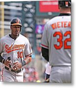Nelson Cruz And Adam Jones Metal Print