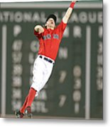 Nelson Cruz and Brock Holt Metal Print