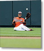 Nelson Cruz and Josh Thole Metal Print
