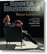 NFL Draft 2021 Trevor Lawrence Sports Illustrated cover Metal Print