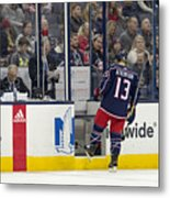 NHL: DEC 01 Ducks at Blue Jackets Metal Print