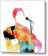 No076 MY PAUL MCCARTNEY Watercolor Music poster Metal Print